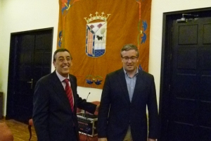 Bienvenido Mena y Julián Ramos