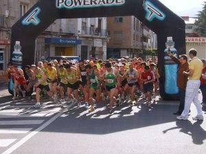 Salida Media Maratón Ciudad de Béjar